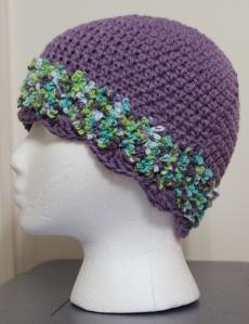 lavendar hat